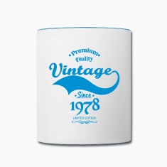 Premium Quality Vintage Since 1978 Limited Edition Mugs & Drinkware