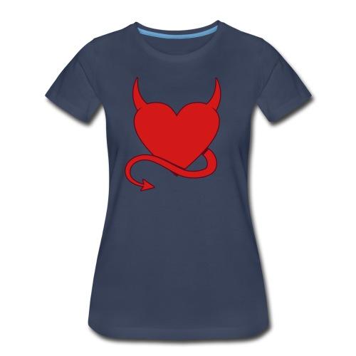 Horny Heart - Women's Premium T-Shirt