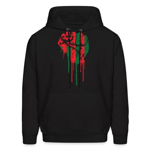 Black Power Fist Hoodie - Men's Hoodie