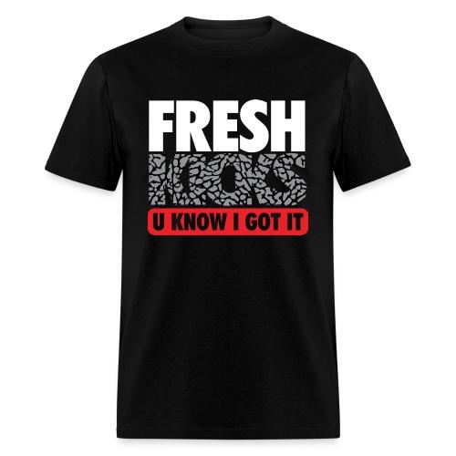 Fresh Kicks White Cement - Men's T-Shirt