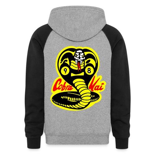 Men's Cobra Kai Colorblock Hoodie - Colorblock Hoodie