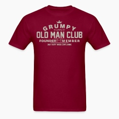 Grumpy Old Man Club Founder Member Complaining