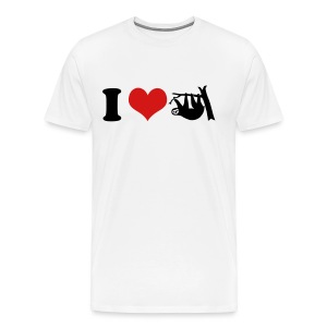 i love sloths T-Shirts - Men's Premium T-Shirt