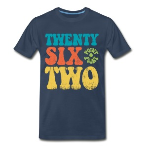 twenry six point two T-Shirts - Men's Premium T-Shirt
