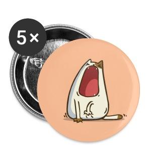 Yawncat — Friday Cat №28 - Small Buttons