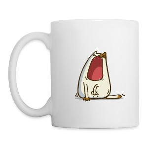 Yawncat — Friday Cat №28 - Coffee/Tea Mug