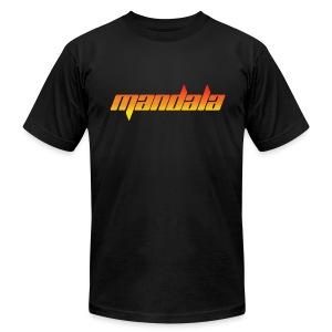 Mandala Men's T-Shirt by American Apparel - Men's Fine Jersey T-Shirt