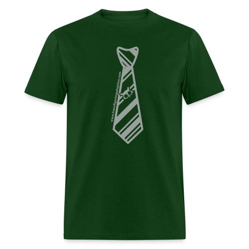 Green/Silver Transfiguring Adoption Shirt - Men's T-Shirt