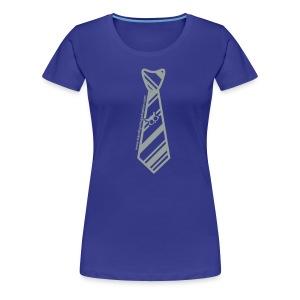 Blue/Silver Ladies Transfiguring Adoption Shirt - Women's Premium T-Shirt