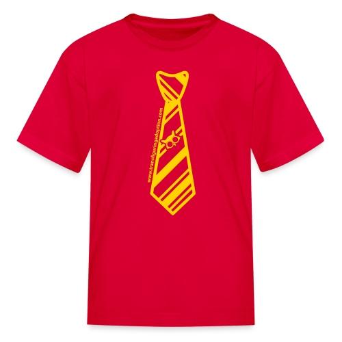 Red/Gold Youth Transfiguring Adoption Shirt - Kids' T-Shirt