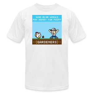 Who Else Would Pay Money for Poop? -GARDENERS- - Men's Fine Jersey T-Shirt