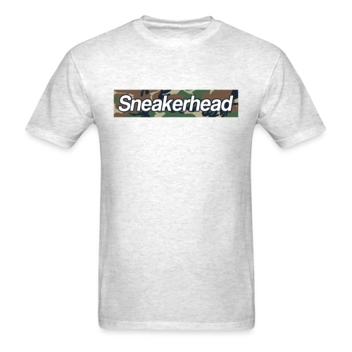 Sneakerhead Camo Bar - Men's T-Shirt