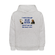 Sweatshirts ~ Kids' Hoodie ~ Millen and Mayhew