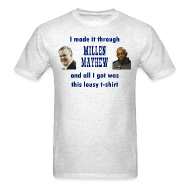 T-Shirts ~ Men's T-Shirt ~ Millen and Mayhew
