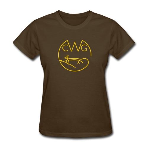 Women's Cotton CWG Logo - Women's T-Shirt