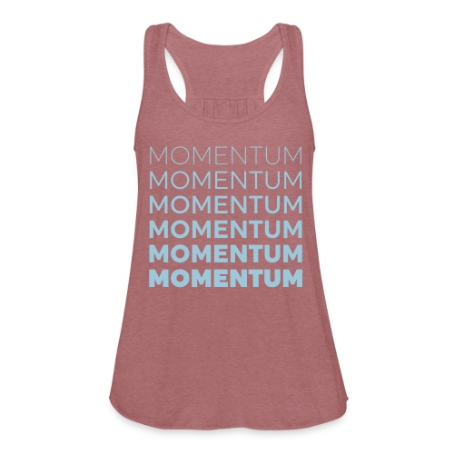 Momentum Racerback Active Tank - Green - Women's Flowy Tank Top by Bella