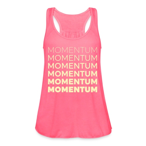 Momentum Racerback Active Tank - Pink - Women's Flowy Tank Top by Bella