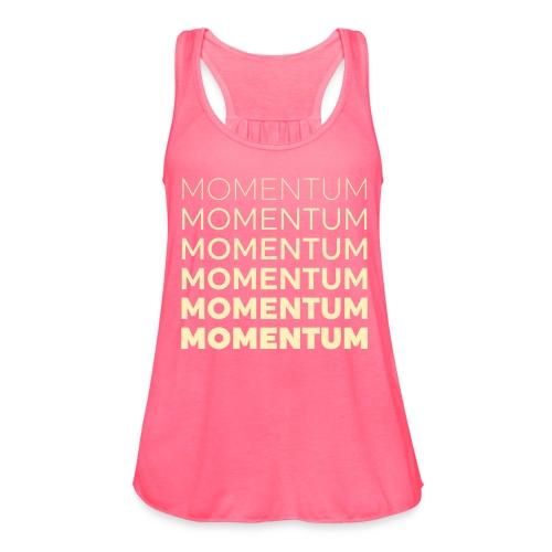 Momentum Racerback Active Tank - Pink - Women's Flowy Tank Top by Bella