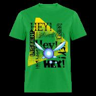 T-Shirts ~ Men's T-Shirt ~ Hey Listen! Navi Shirt