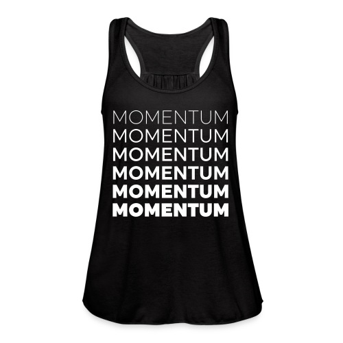 Momentum Racerback Active Tank - Black - Women's Flowy Tank Top by Bella