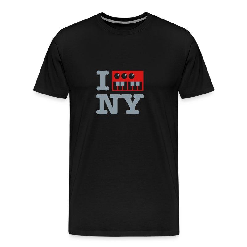 I Synthesize New York - Men's Premium T-Shirt