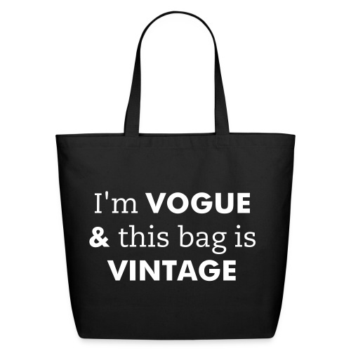 Vogue & Vintage - Eco-Friendly Cotton Tote