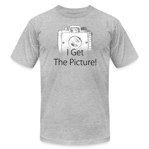 I Get The Picture! Brownie Camera - Men's Fine Jersey T-Shirt