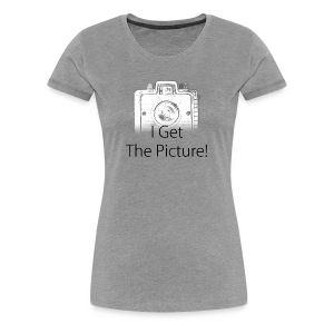 I Get The Picture! Brownie Camera - Women's Premium T-Shirt