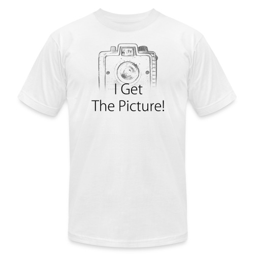 Brownie Camera I Get The Picture! White T-shirt - Men's Fine Jersey T-Shirt
