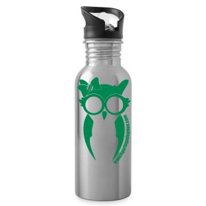 Green Type Water Bottle (Girl Owl) - Water Bottle