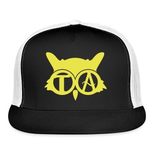 Yellow/Black Ball Cap - Trucker Cap