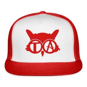 Red Ball Cap - Trucker Cap