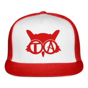 Red Ball Cap - Trucker Cap