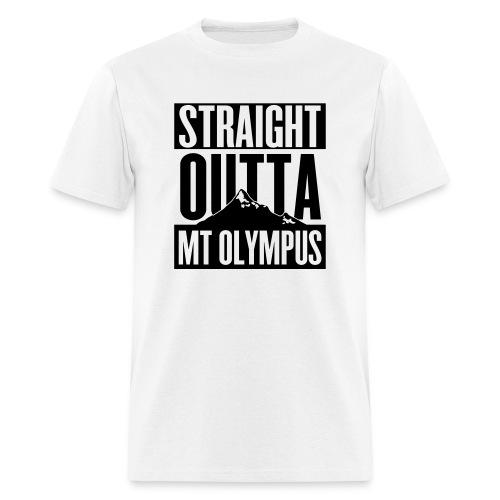 T-Shirt Straight Outta Mt Olympus - Men's T-Shirt