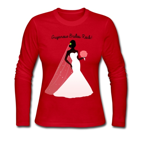 Bride Long Sleeve T-Shirt - Women's Long Sleeve Jersey T-Shirt