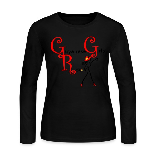 GGR Long Sleeve T-Shirt - Women's Long Sleeve Jersey T-Shirt