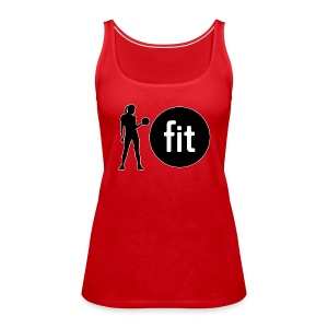 Lady Fit T1 - Women's Premium Tank Top