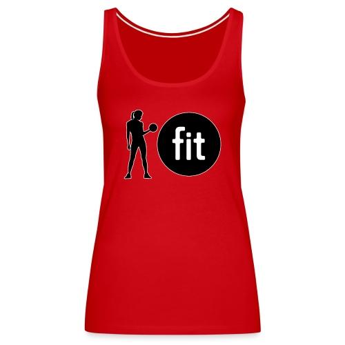 Lady Fit T1 - Women's Premium Tank Top