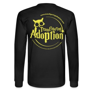 Yellow/Black Long Sleeve Tshirt - Men's Long Sleeve T-Shirt