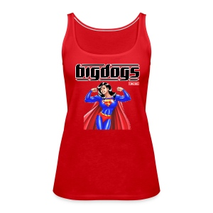LadyBulldog T1 - Women's Premium Tank Top