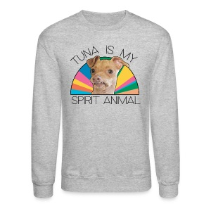 New! Men's Spirit Animal Sweatshirt - Crewneck Sweatshirt