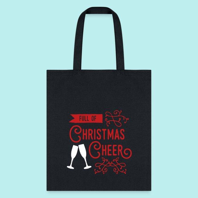 full of christmas cheer tote bag
