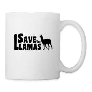 Save the Llamas Mug - Coffee/Tea Mug