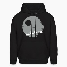 That's not a moon - Men's Christmas Hoodie