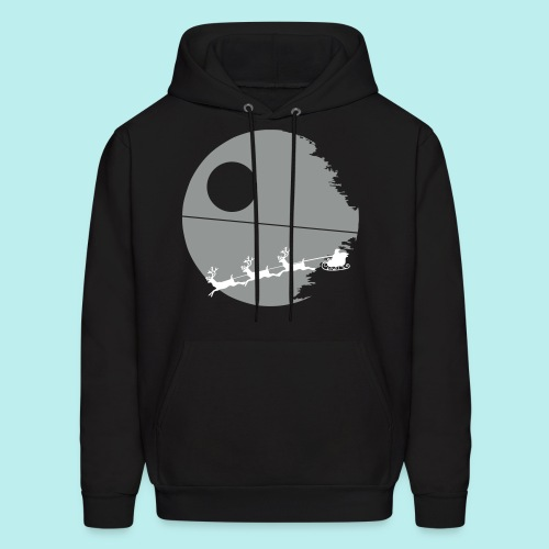 That's not a moon - Men's Christmas Hoodie - Men's Hoodie