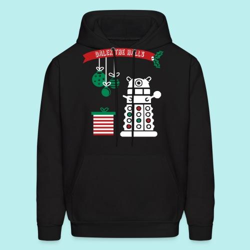 Dalek the Halls - Men's Christmas Hoodie - Men's Hoodie
