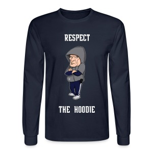 Belichick - Respect the Hoodie longsleeve - Men's Long Sleeve T-Shirt