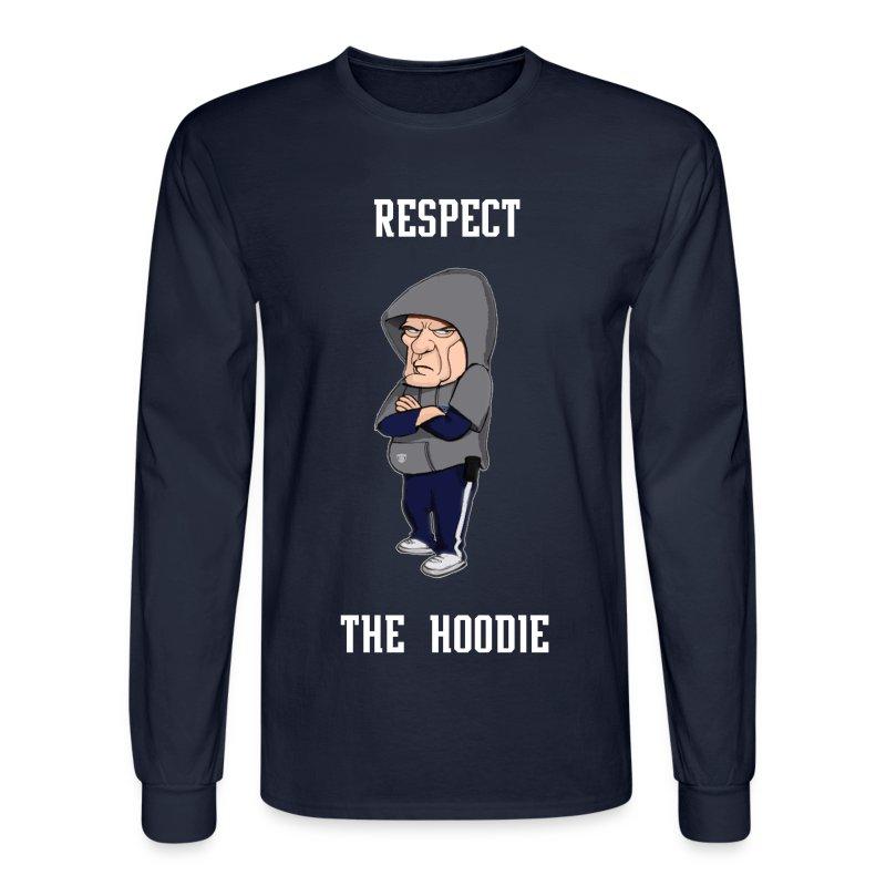 Belichick - Respect the Hoodie longsleeve - Men's Long Sleeve T-Shirt