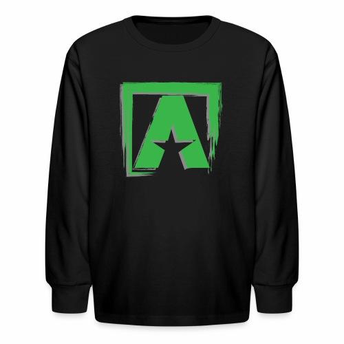 Square Up LS Tee - Kids' Long Sleeve T-Shirt