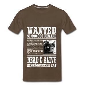 cat wanted - Men's Premium T-Shirt
